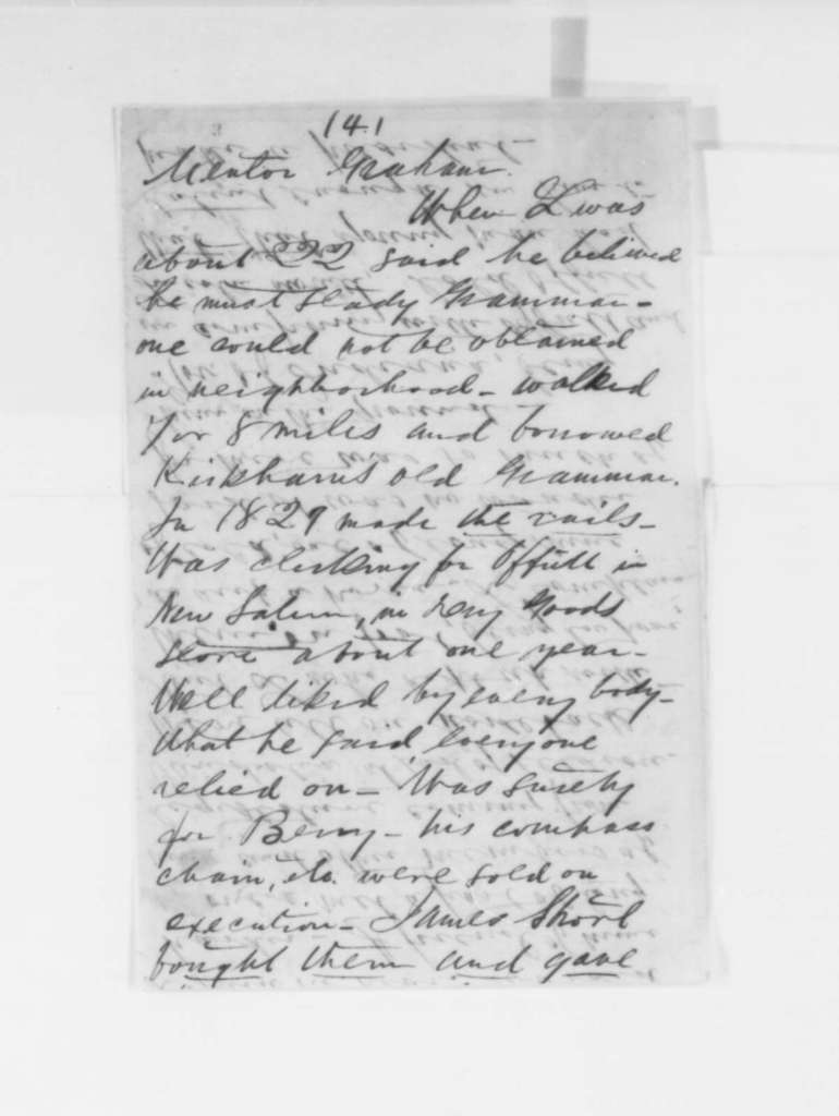 James Q. Howard, May 1860  (Biographical notes)