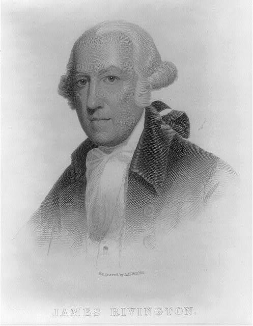 James Rivington / Engraved by A. H. Ritchie.