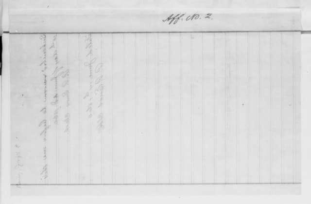 Joseph A. Berry, Thursday, June 14, 1860  (Affidavit in Conner v. Berry)