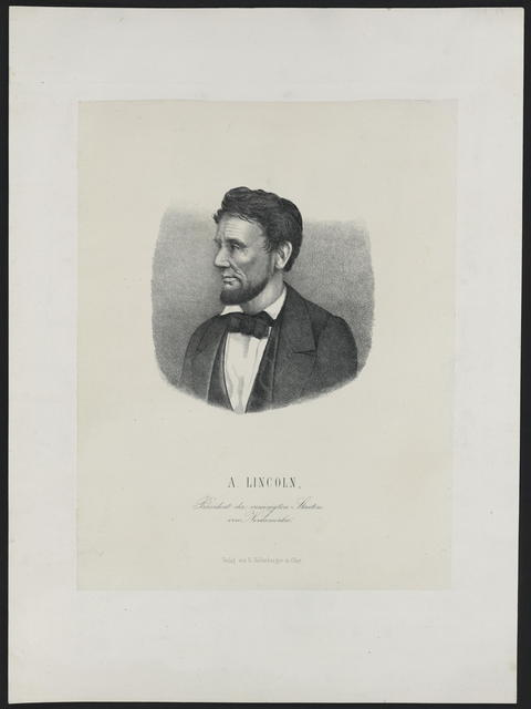 [Kellenberger portrait of Lincoln.]