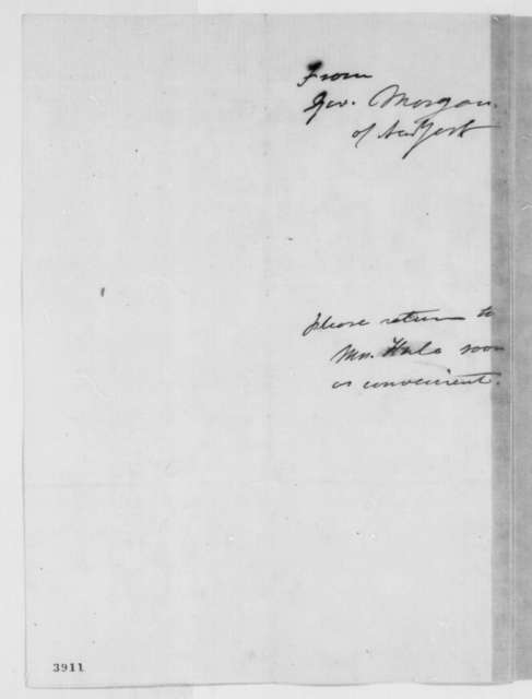 L. L. Doty to Sarah J. Hale, Wednesday, October 03, 1860  (Thanksgiving)