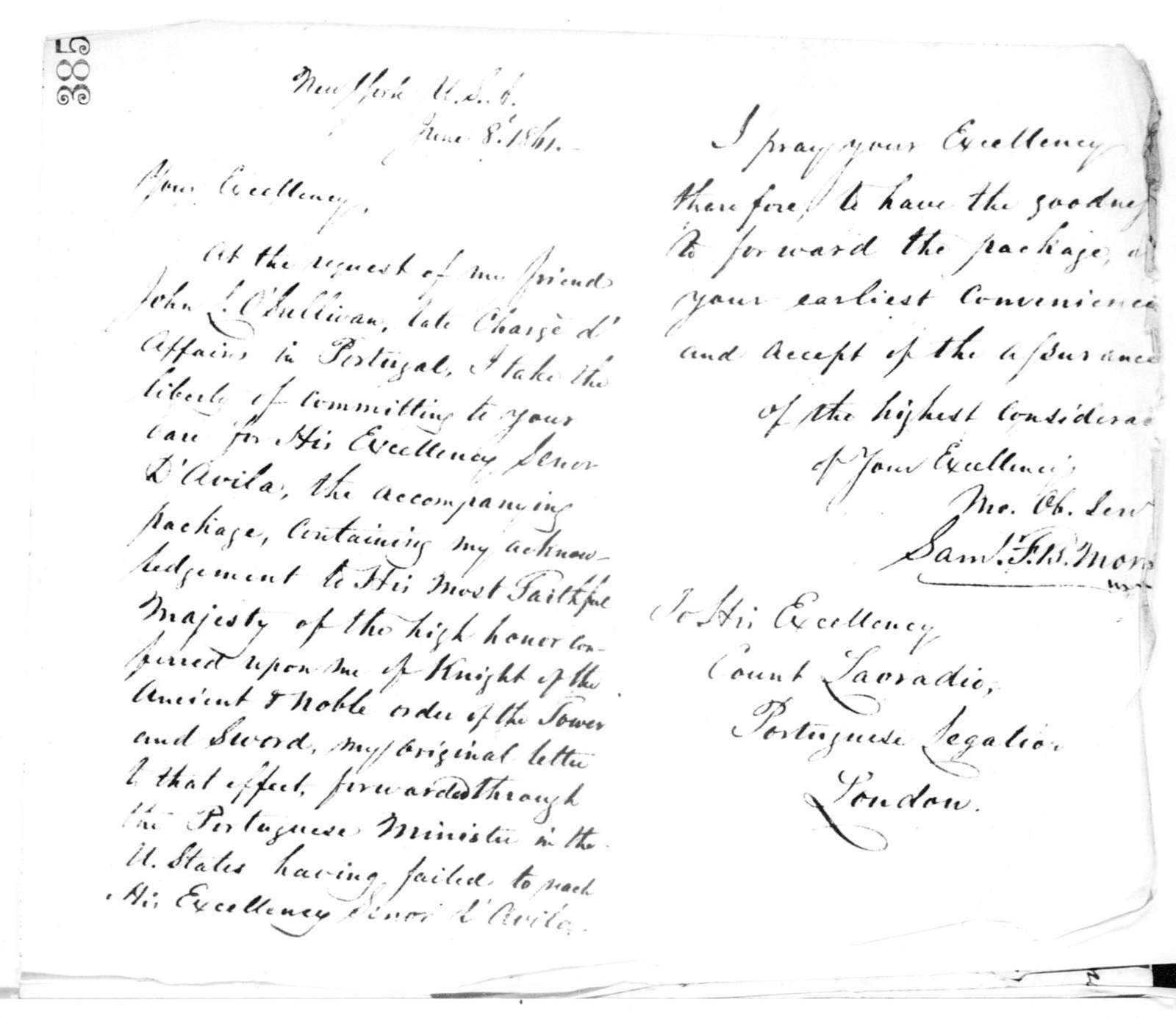 Letterbook---24 May 1860-18 February 1862