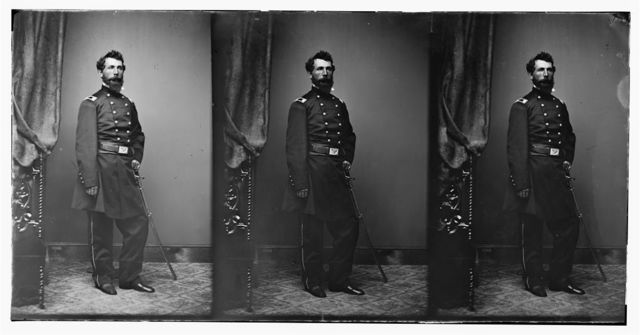 Lt. Col. C.C. Blanchard QM