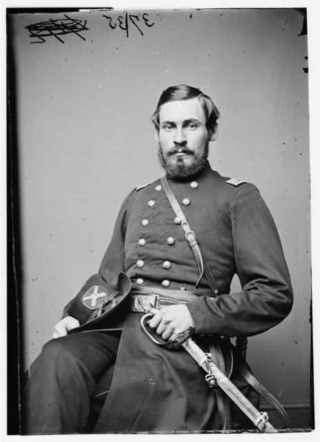 Lt. Col. G.E. Chamberlain, 1st Vermont Art.