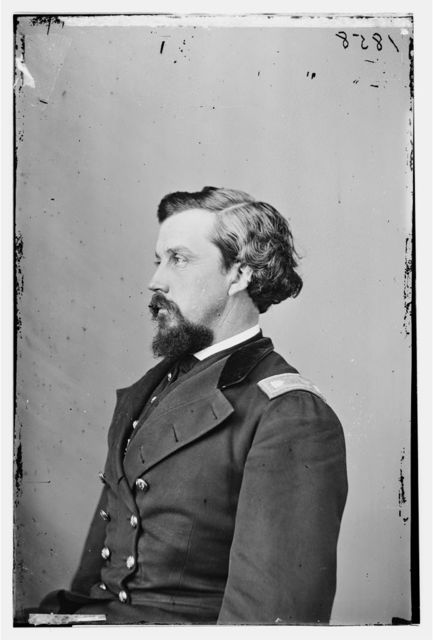 Lt. Col. Samuel S.F. Tappan, 1st Colorado Regt. of Volunteers