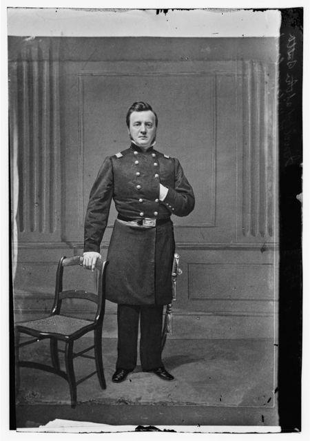 Lt. Col. W.H. Merritt, 1st Iowa Inf. USA