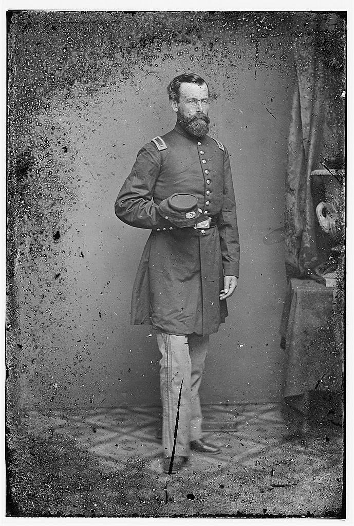 Lt. Wm Gurney, 7th NYSM, Command of Charleston, S.C. after capture - 1865. Became Brig Gen.