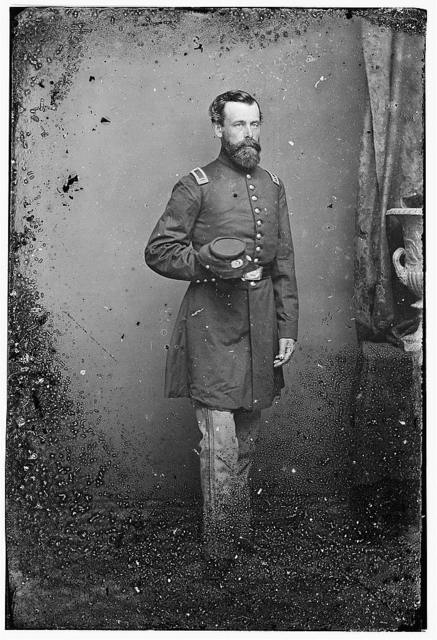 Lt. Wm Gurney, 7th NYSM, Command of Charleston, S.C. after capture - 1865. Became Brig Gen.