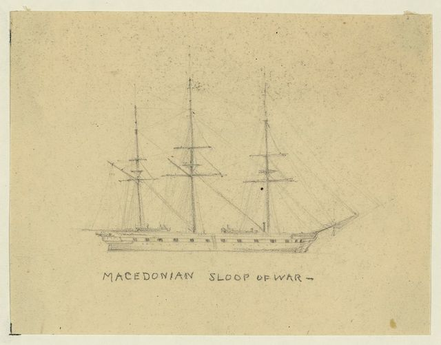 Macedonian, sloop of war