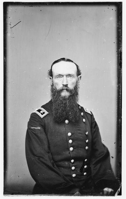Maj. Gen. Frederick Steele, Col. of 8th Inf. (Iowa)