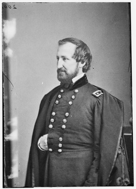 Maj. Gen. Wm S. Rosecrans, Commander of the Army of Ohio