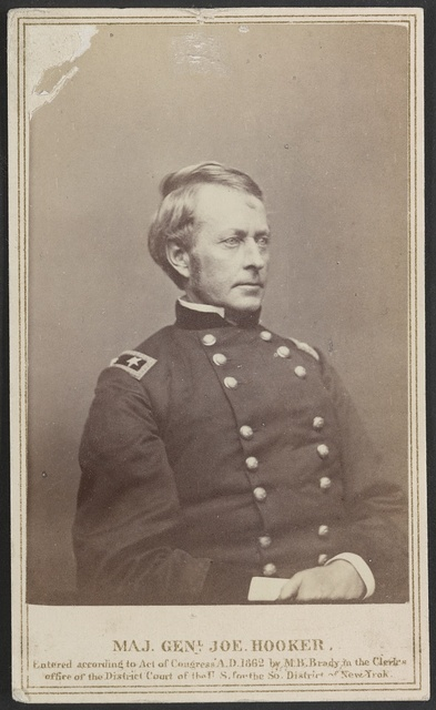 Maj. Genl. Joe Hooker / From photographic negative in Brady's National Portrait Gallery.