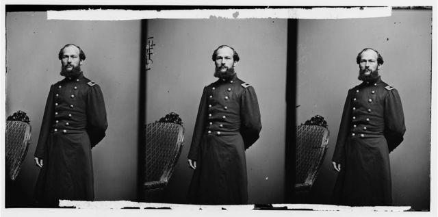 Maj. J.W. Beazell, Paymaster