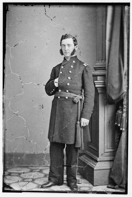 Maj. L.E. Johnson, Paymaster