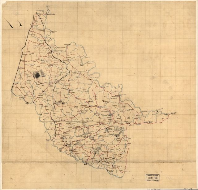 [Map of Hanover County, Va.].