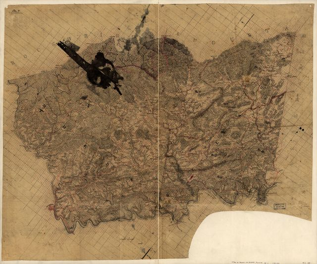 [Map of Nelson and Amherst counties, Va.] /