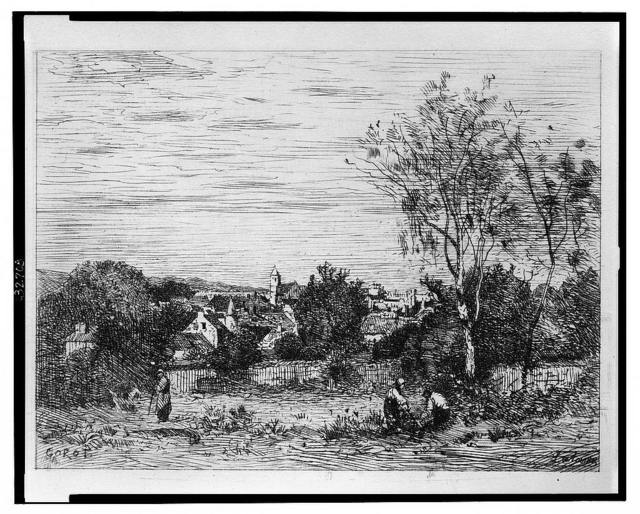 Marcoussis (Corot) / Corot ; Lalanne.