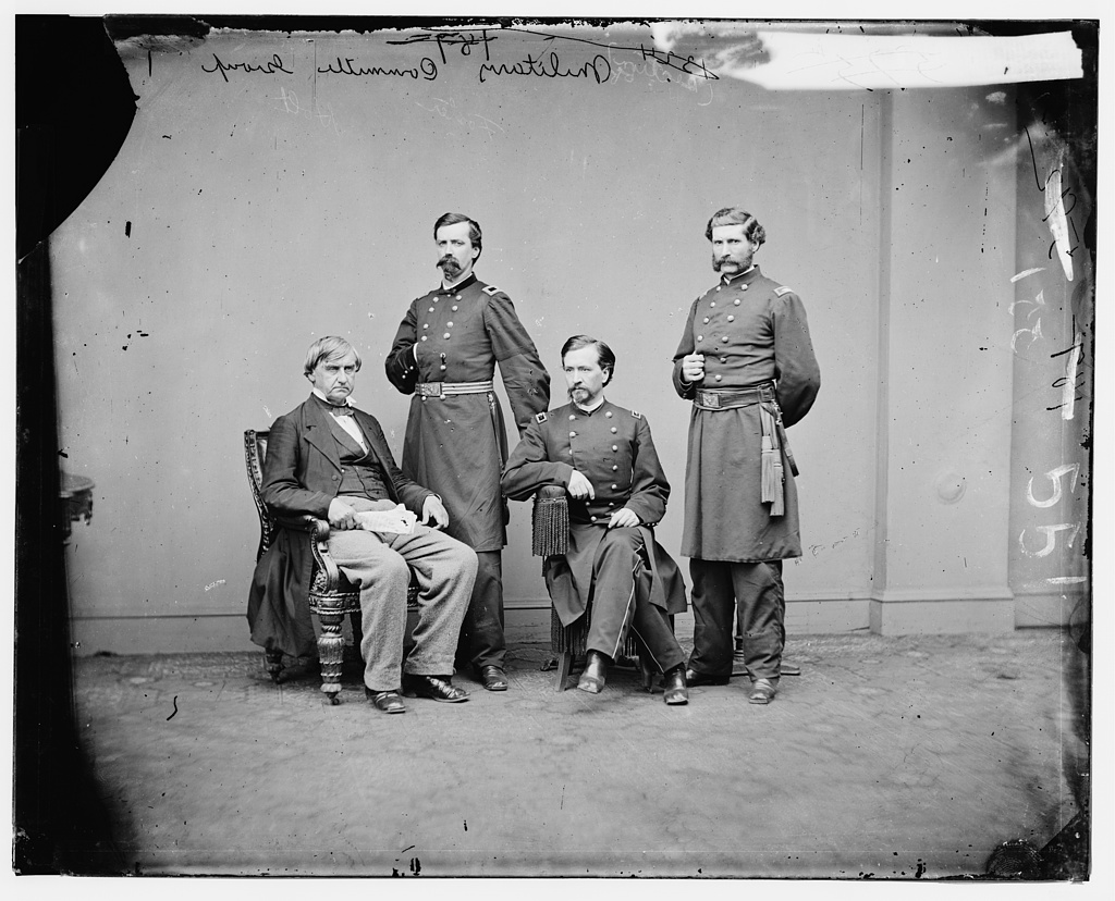 Members of the Military Commission for the trial of Lincoln Conspirators