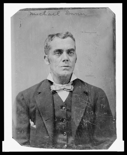[Michael Dunn, half-length portrait, facing front]
