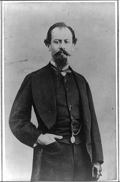 [Miguel Miramón, three quarter-length portrait, standing, facing front]