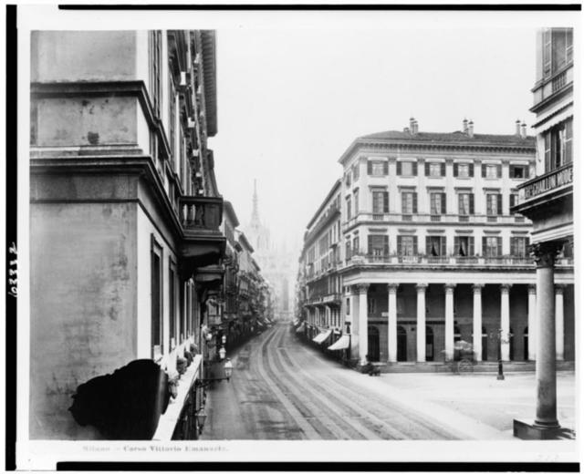 Milano--Corso Vittorio Emanuele