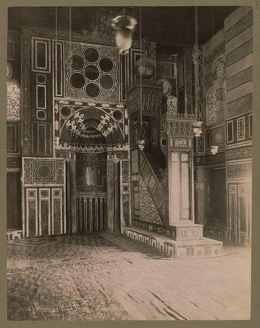 Mosquée El Bordeni (Sanctuaire) / J.P. Sebah.