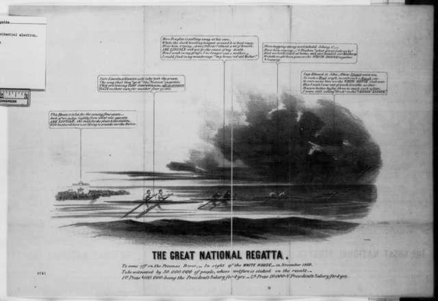 National Regatta, November 1860  (Illustration)