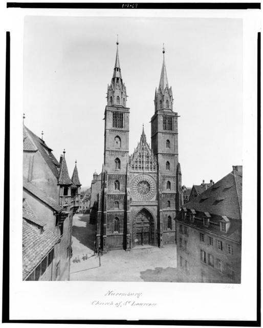 Nuremburg. Church of St. Lawrence