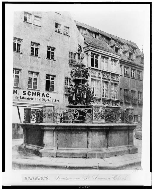 Nuremburg. Fountain of St. Lawrence church