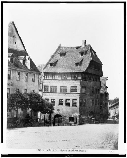 Nuremburg. House of Albert Durer