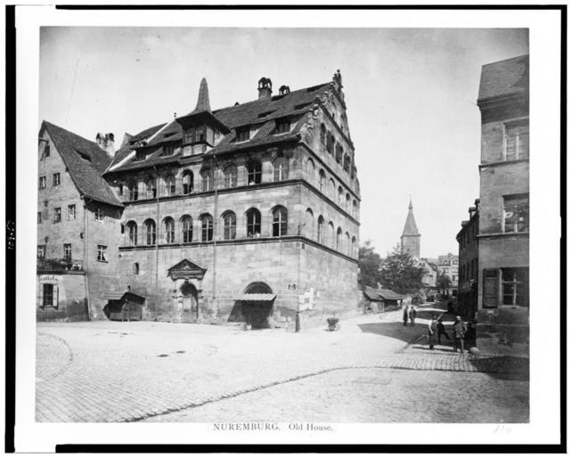 Nuremburg. Old house