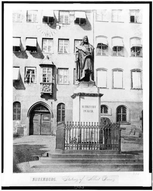 Nuremburg. Statue of Albert Durer