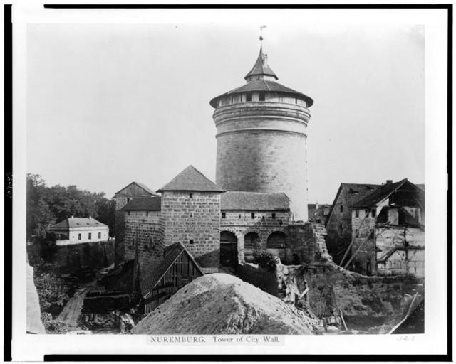 Nuremburg. Tower of city wall