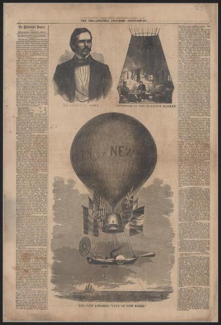 Philadelphia Enquirer Supplement, [newspaper]. June 21, 1860.
