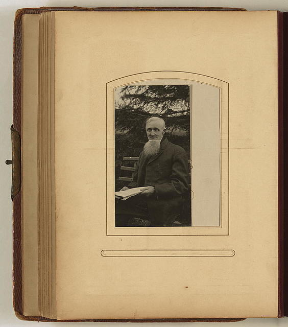 Photograph album owned by the Spafford family