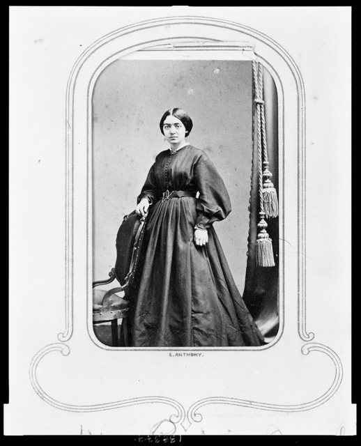 [Physician and educator Mary Putnam Jacobi as a young woman]