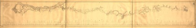 Plan and profile of the Phil. W. & Balt. R.R., A.D. 1860.