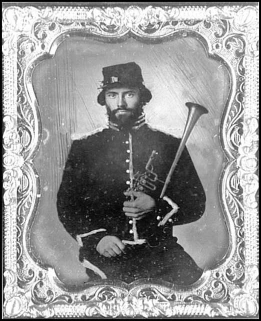 [Portrait of a musician, 2d Regulars, U.S. Cavalry]