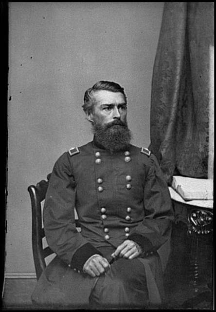 [Portrait of Brig. Gen. Herman Haupt, officer of the Federal Army]