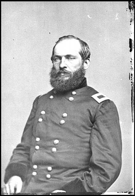 [Portrait of Brig. Gen. James A. Garfield, officer of the Federal Army (Maj. Gen. from Sept. 19, 1863)]