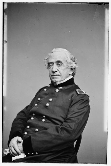 [Portrait of Brig. Gen. Joseph G. Totten, Chief, Corps of Engineers, officer of the Federal Army]