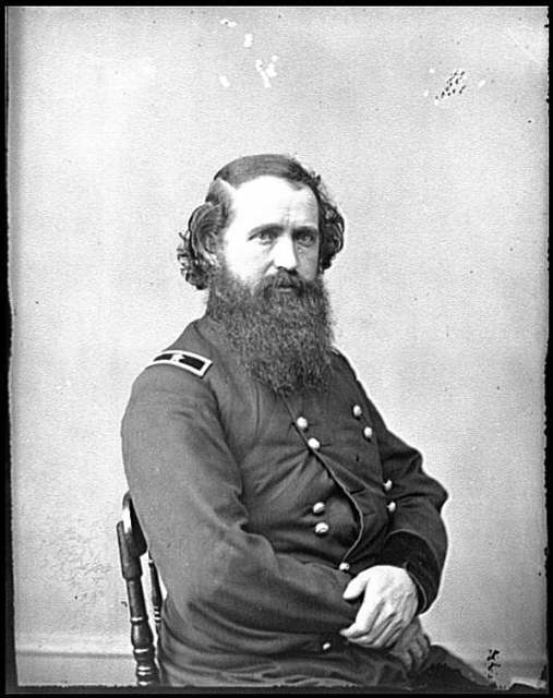 [Portrait of Brig. Gen. Robert Mitchell, officer of the Federal Army]