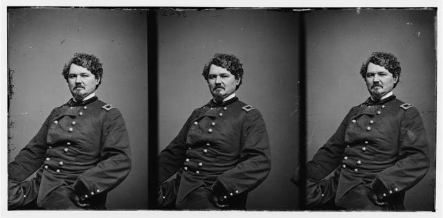 [Portrait of Brig. Gen. Samuel D. Sturgis, officer of the Federal Army]