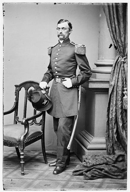 [Portrait of Capt. Charles Griffin, officer of the Federal Army, (Brig. Gen. from June 9, 1862)]