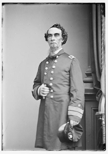 [Portrait of Capt. Henry Walke, officer of the Federal Navy]