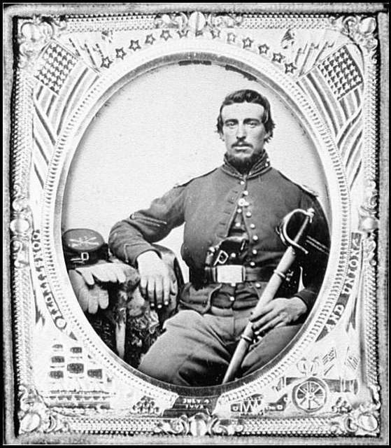 [Portrait of Corp. Nailer, 13th Pennsylvania Cavalry, U.S.A.]
