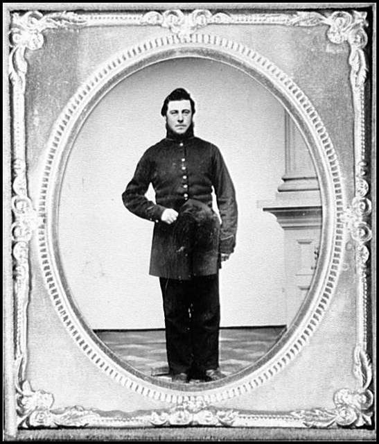 [Portrait of John Miller Dummerston, Company K, 9th Vermont Infantry, U.S.A.]