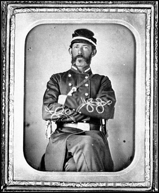 [Portrait of Lt. Col. James T. Weaver, 60th North Carolina Regiment, C.S.A.]