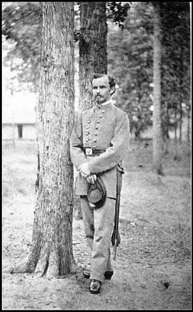 [Portrait of Maj. Edmonds (of Virginia), C.S.A.]