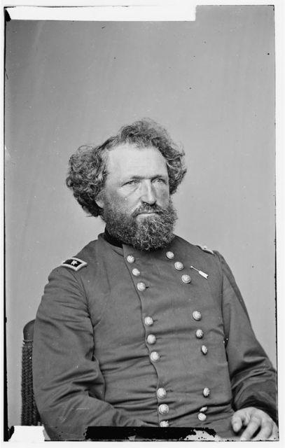[Portrait of Maj. Gen. (as of Aug. 21, 1865) Mortimer D. Leggett, officer of the Federal Army]